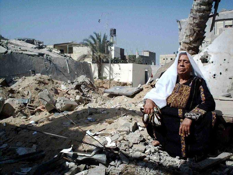 Gaza-woman