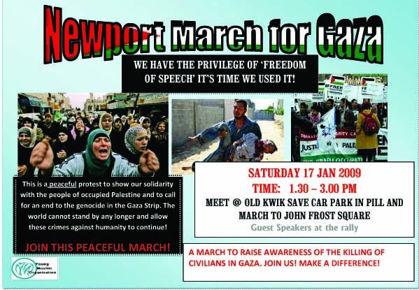 NEWPORT MARCH FOR GAZA1