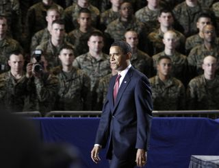 Obama at Lejeune speech