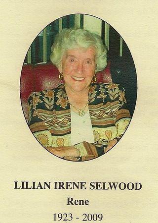 Rene Selwood final