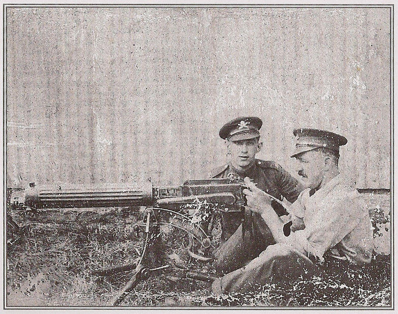 Machine Gunner Flynn